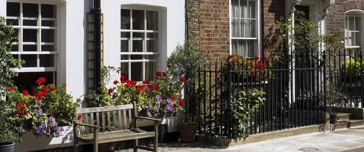London homes with sash windows