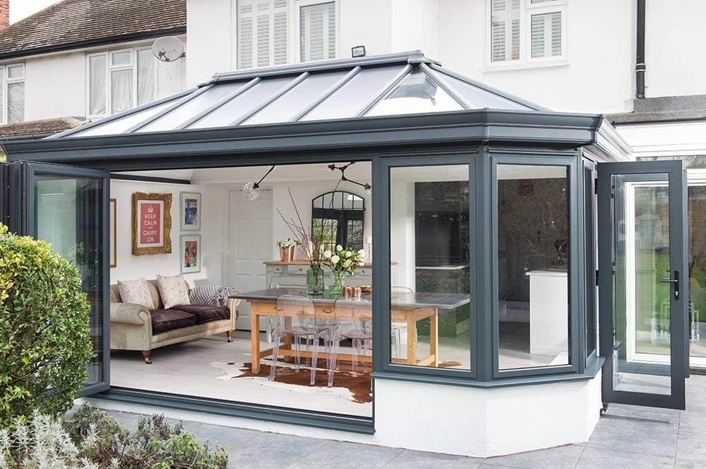 Conservatory installation modern vs traditional for Adding a conservatory